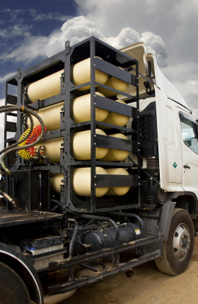 CNG/NGV gas containers for heavy truck , alternative fuel