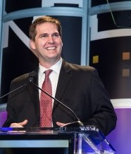 SpaceX CFO Bret Johnsen at the 2013 Eddy Awards
