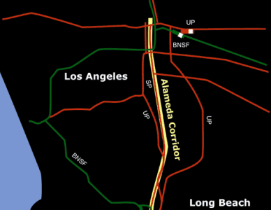 Los Angeles Rail Lines