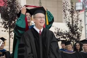 Bill Allen CSUN Honorary Doctorate 5.22.14