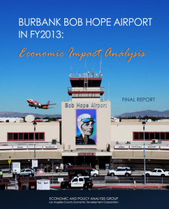 Burbank Airport report cover