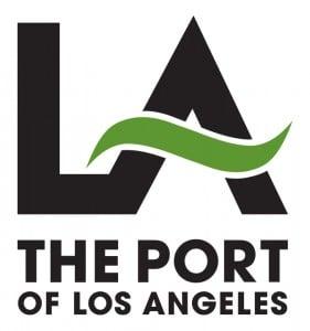 Port of LA logo PMS 370