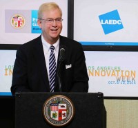 LAEDC's Bill Allen joins Mayor Garcetti to usher in LA Innovation Week