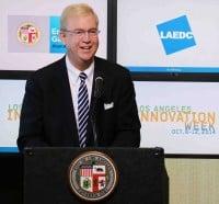 LAEDC's Bill Allen joins Mayor Garcetti to usher in LA Innovation Week