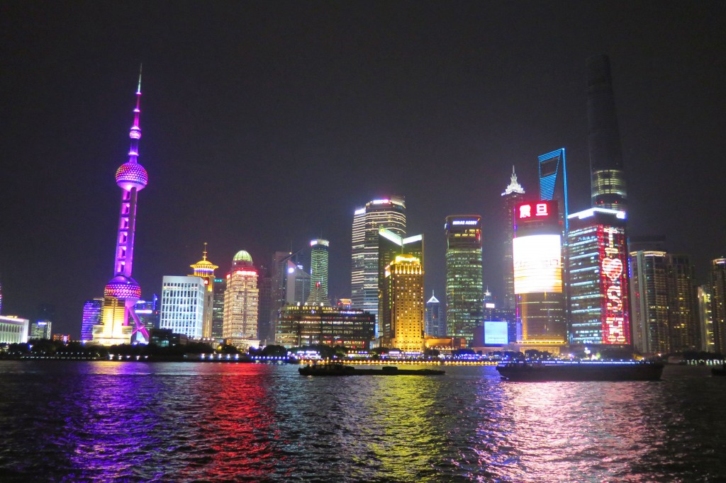 Delegates were awed by the beauty and scale of economic development in Shanghai.