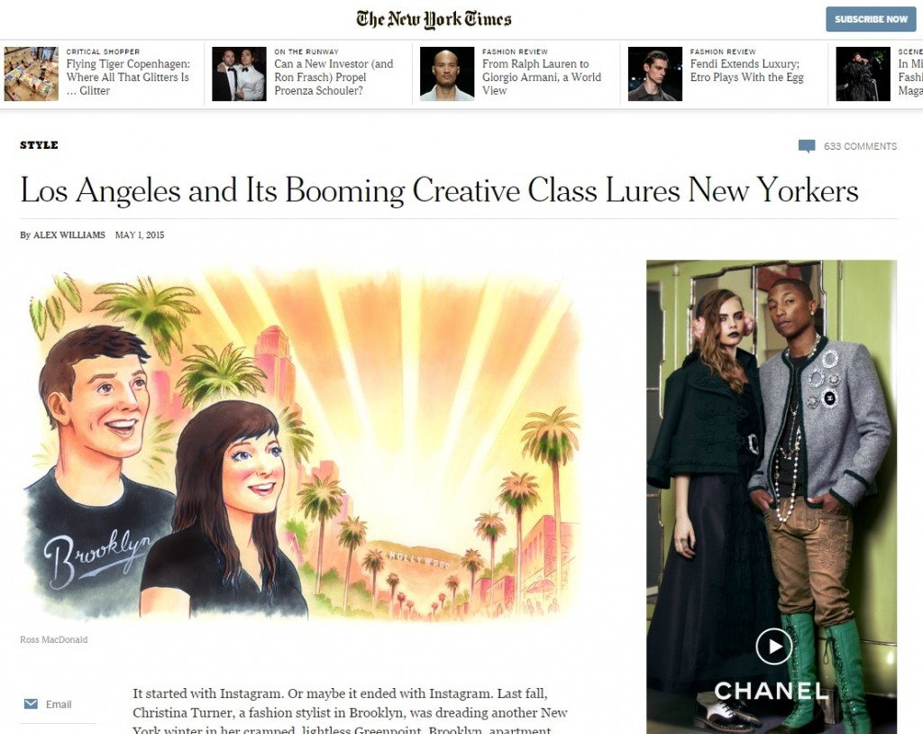 NYT creatives screengrab