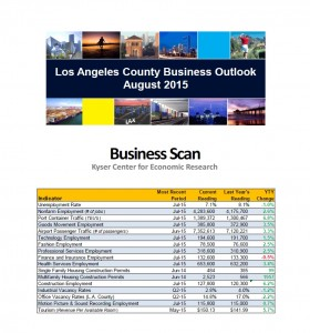 Business Scan August 2015