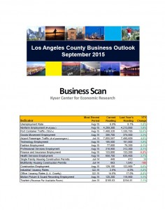 September 2015 Business Scan