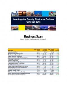 October 2015 Business Scan