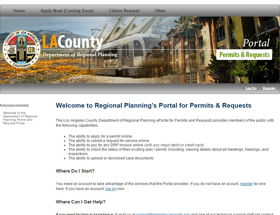 LA County launches enhanced web portal for online permitting