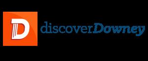 discoverdowney-Color Logo-Blue Letters