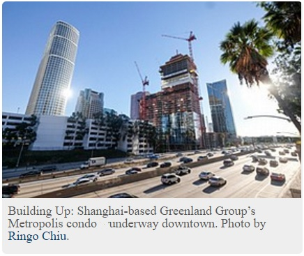 LA Business Journal: China investing heavily in Los Angeles
