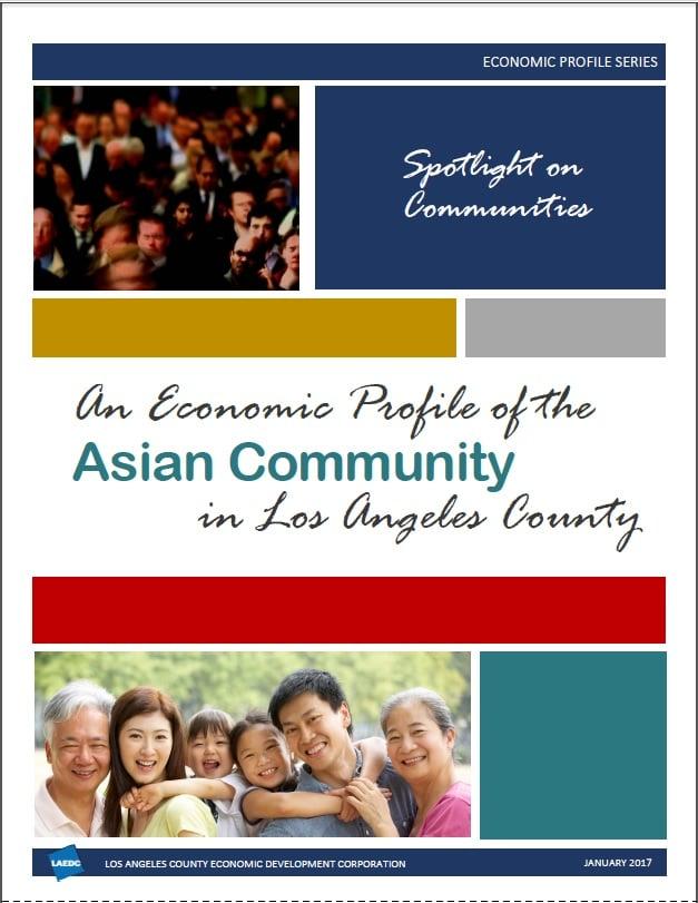 Economic Profile of the Asian Community in L.A. County