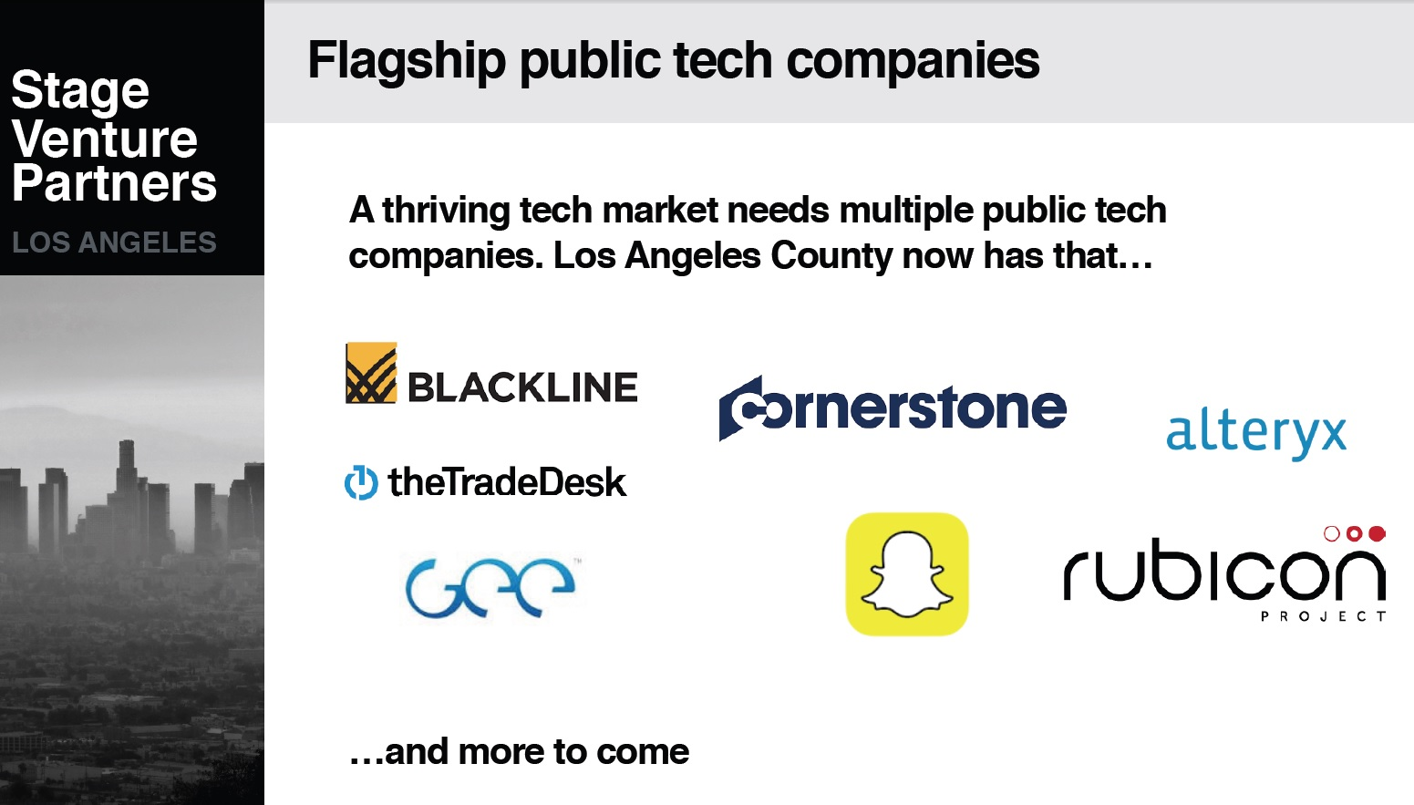 LA Venture Capital Landscape, Trends, Companies On The Move