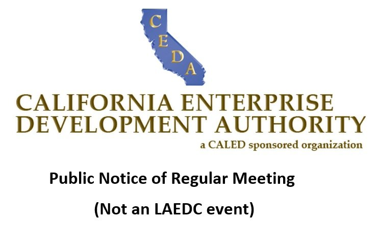 CEDA Board Meeting Conference Call Scheduled for November 29, 2018 at 10:30am