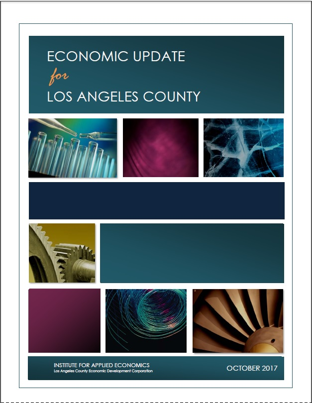Economic Update for LA County, From SCAG's Summit