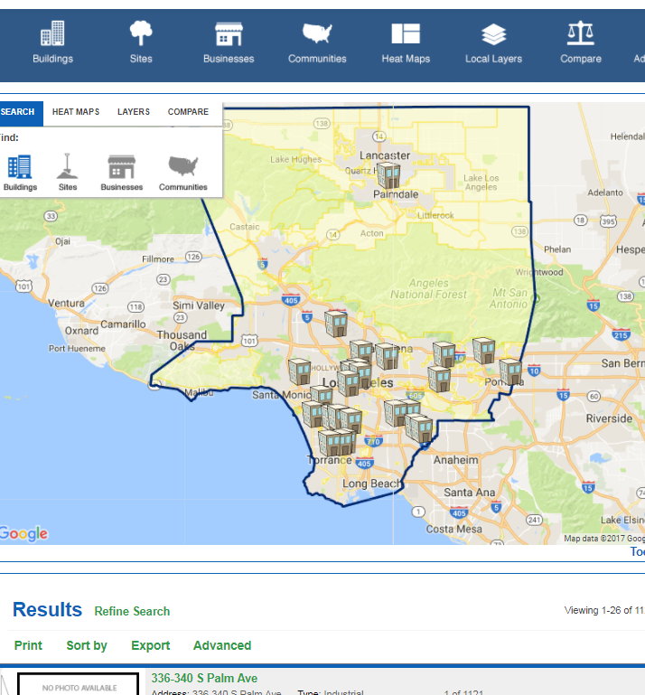 Site Selection in LA County Gets Easy
