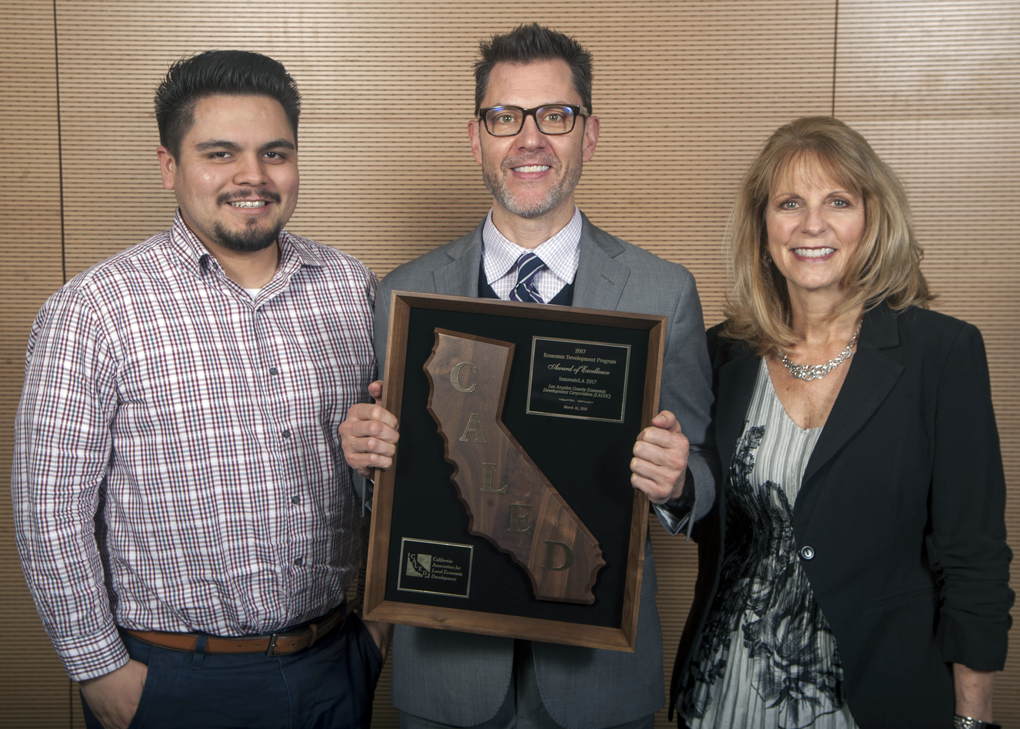 CALED Recognizes LAEDC and WTCLA with Awards