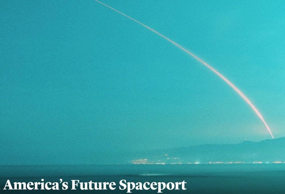 The Atlantic: Los Angeles, America's Future Spaceport