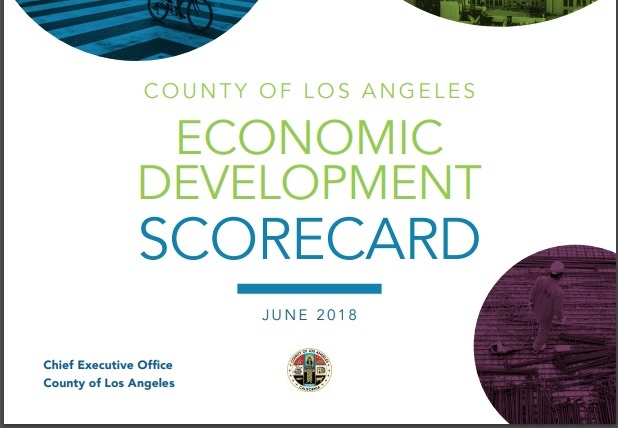 County's Economic Development Scorecard is published