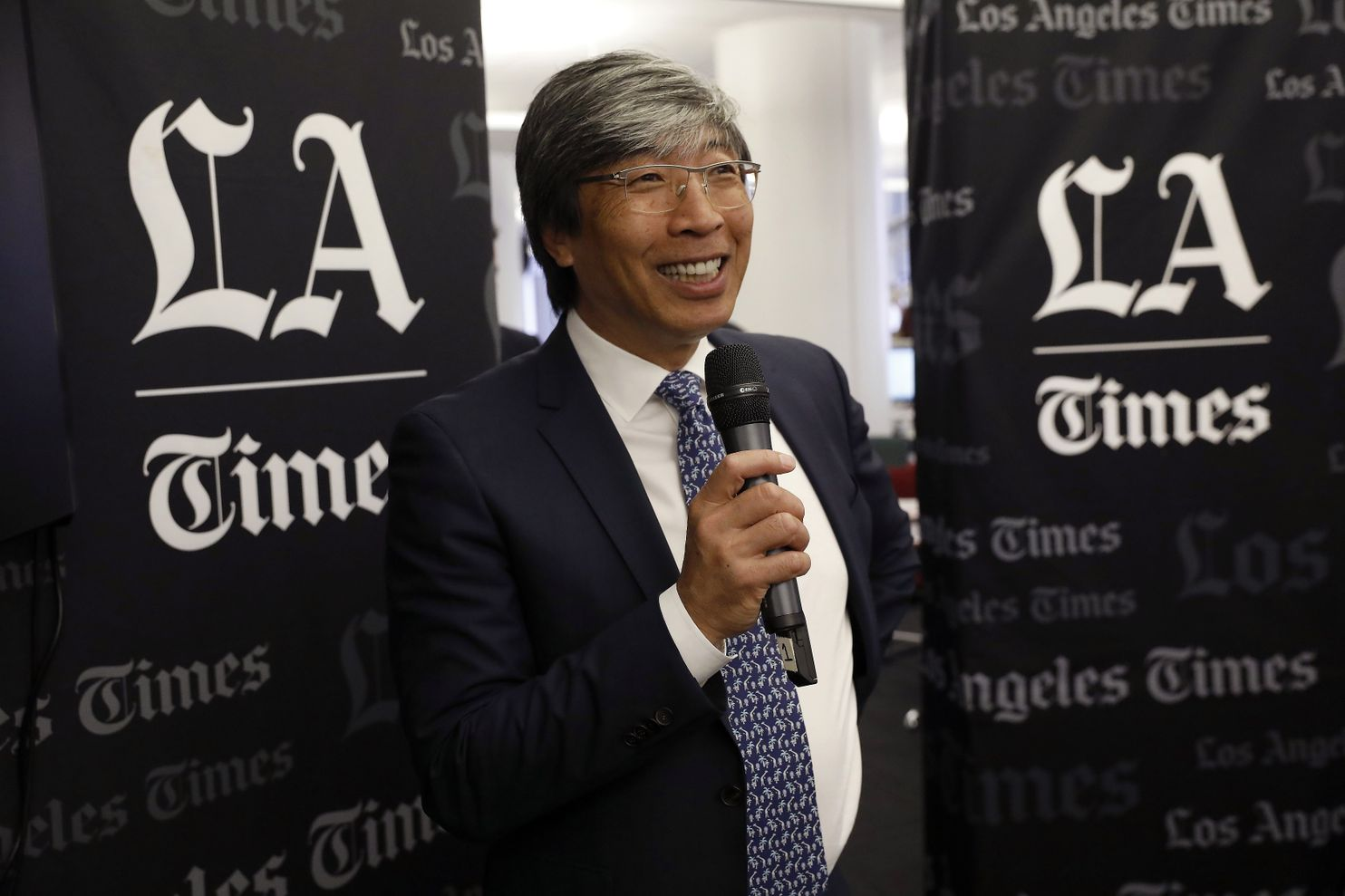 Which industry does former Eddy Award Honoree Dr. Patrick Soon-Shiong think will spark an evolution in modern news media?