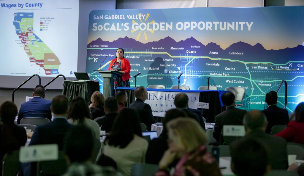 Economic Forecast For San Gabriel Valley Published By