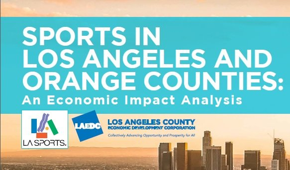 Report quantifies economic impact and jobs created by LA's team sports industry