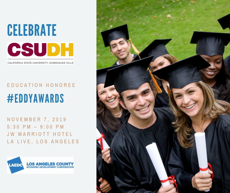 LAEDC Eddy Awards to honor California State University, Dominguez Hills