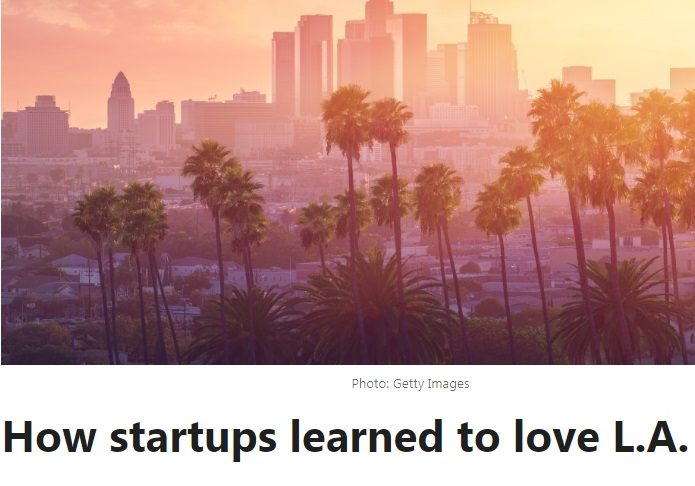 LinkedIn touts LA's attractiveness to startups