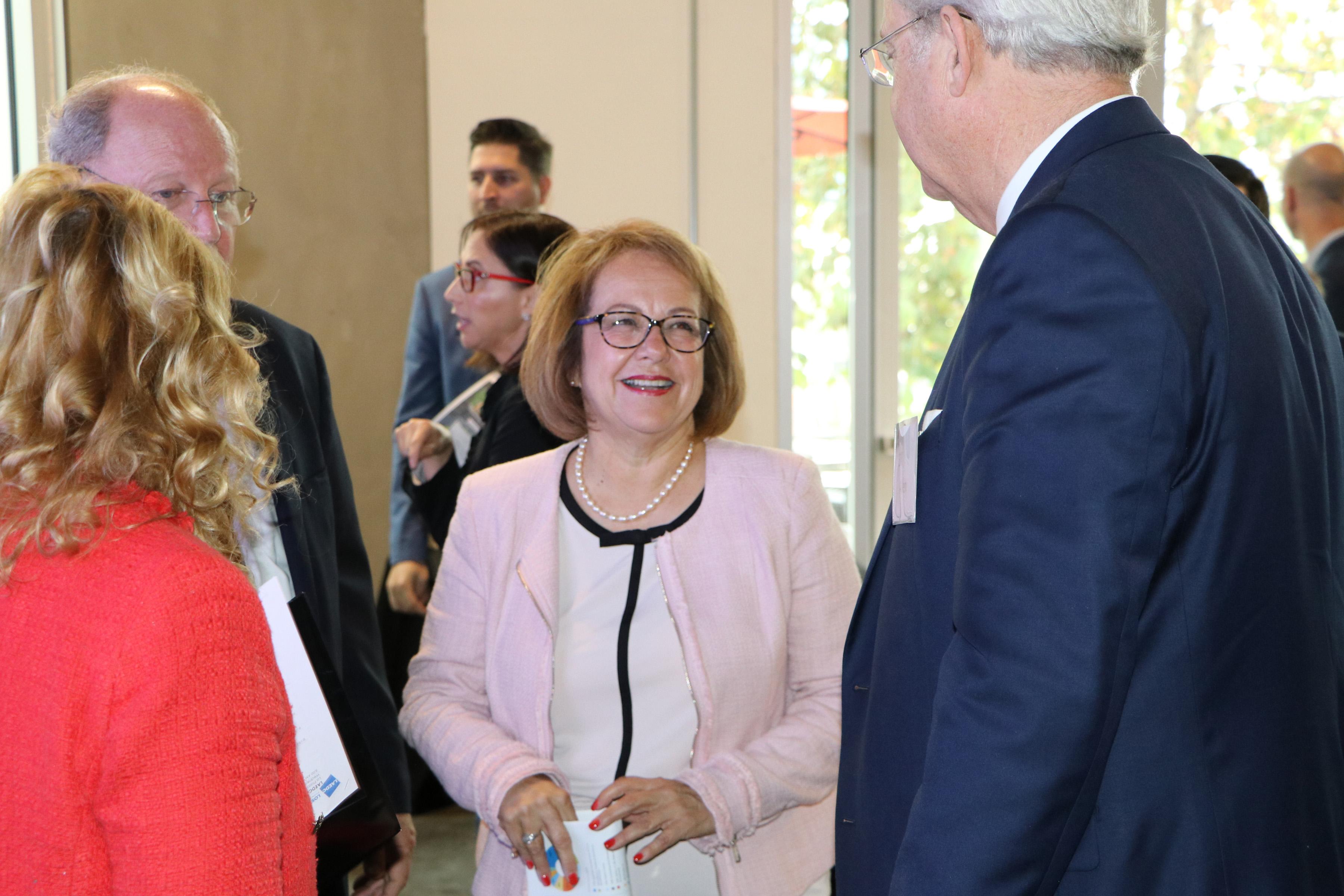 Senator Maria Elena Durazo meets LAEDC Board