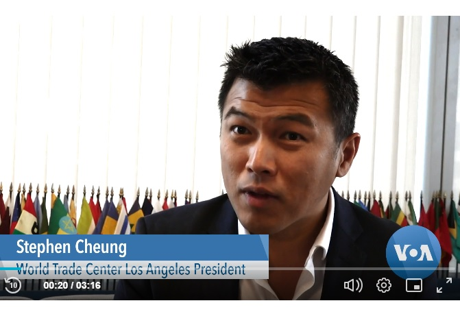 LAEDC's leaders in the news discussing international investment into LA and more
