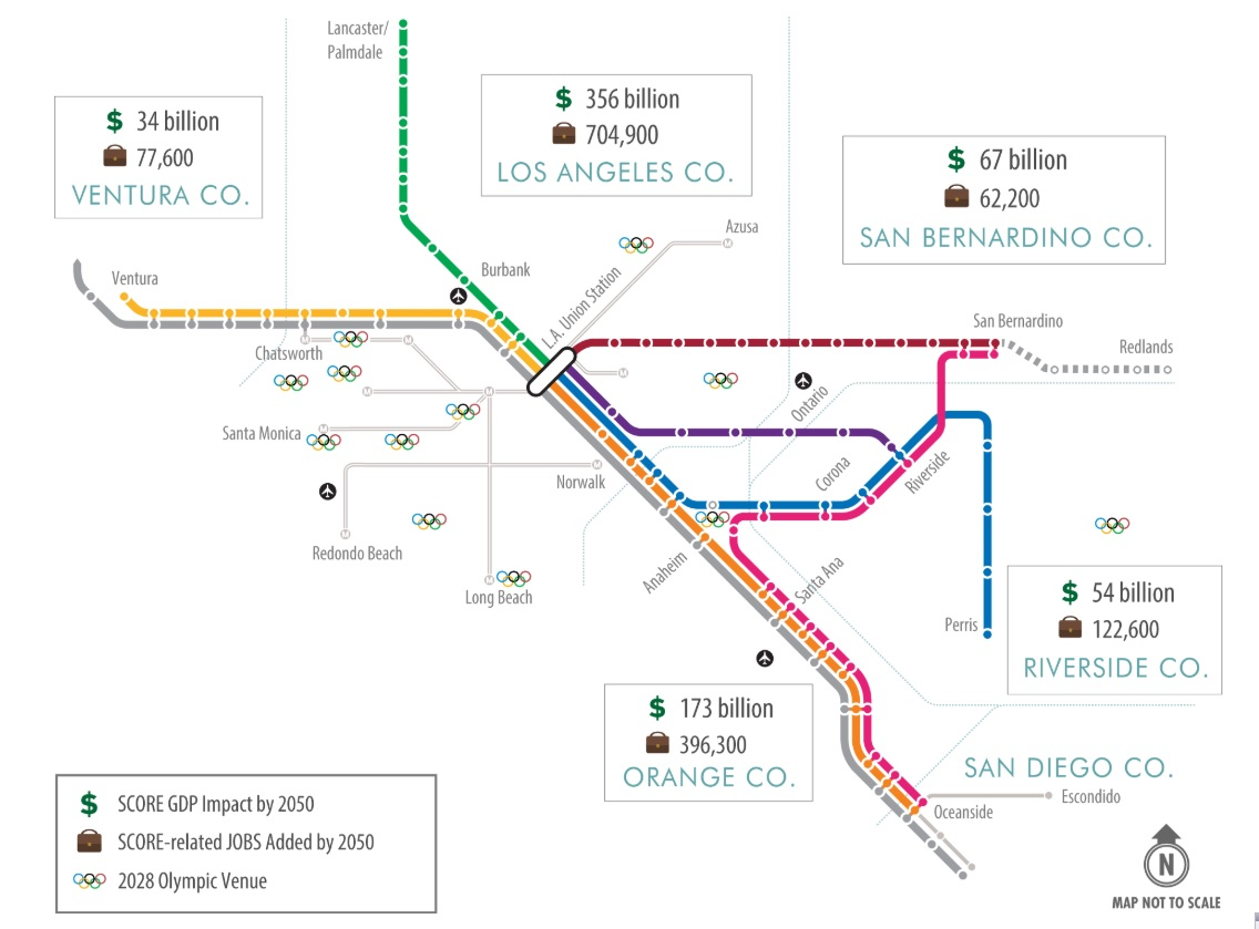 LAEDC study quantifies jobs from Metrolink plan to improve & extend commuter rail