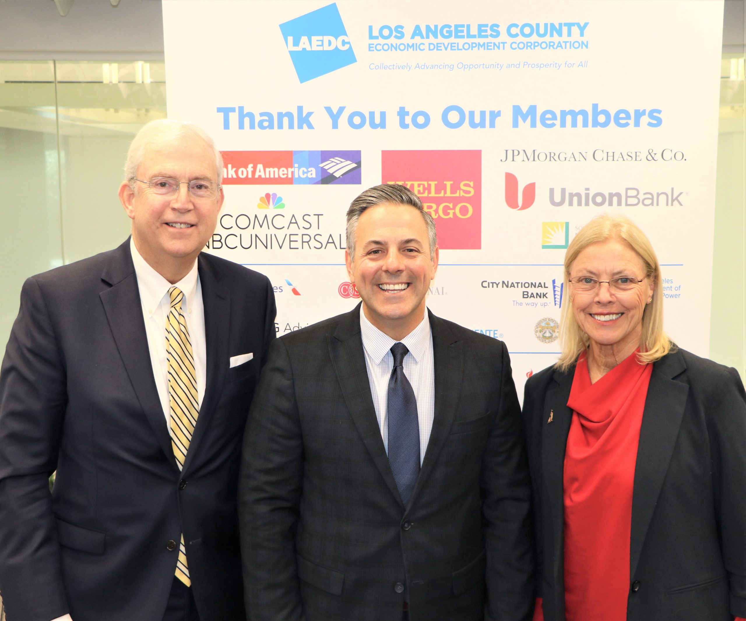 LAEDC members enjoyed hearing from Councilmember Joe Buscaino at Board of Governors