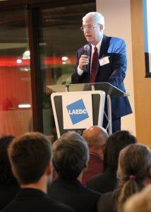 LAEDC CEO Bill Allen at Future Forum