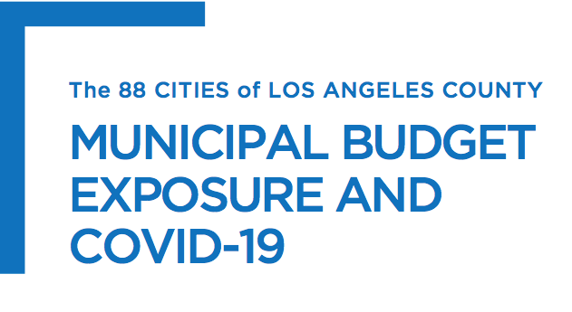 LAEDC research brief:  Municipal budget exposure and COVID-19