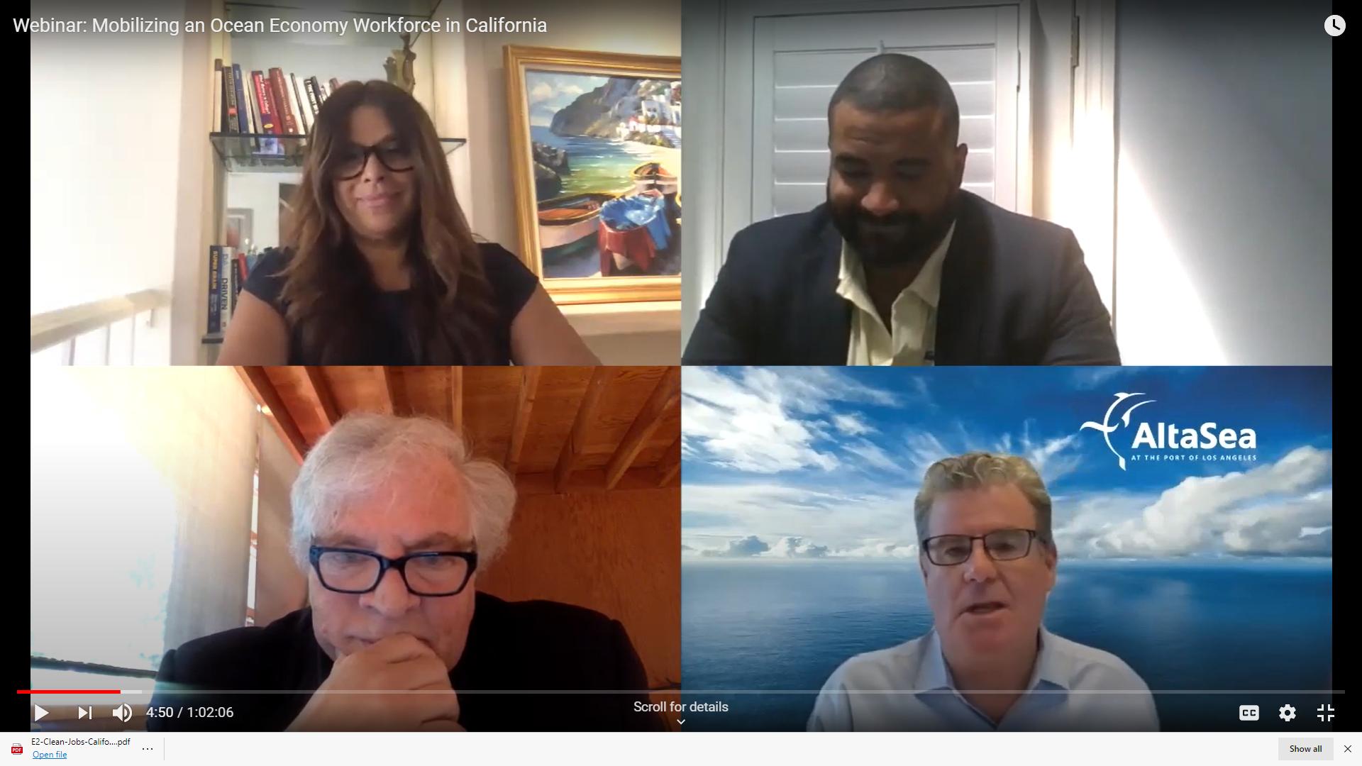 LA's ocean economy explored in two Altasea webinars