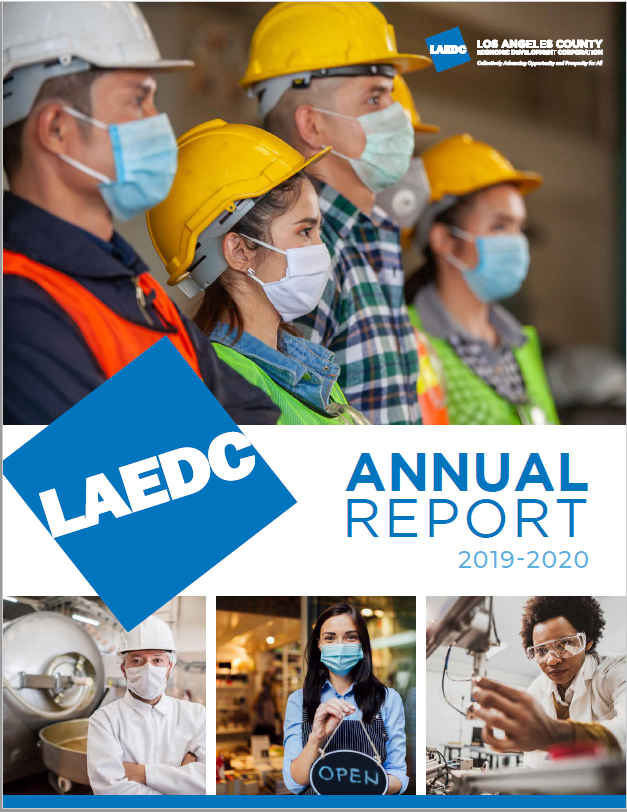 Overcoming challenges: stories of perseverance and assistance in LAEDC 2020 Annual Report
