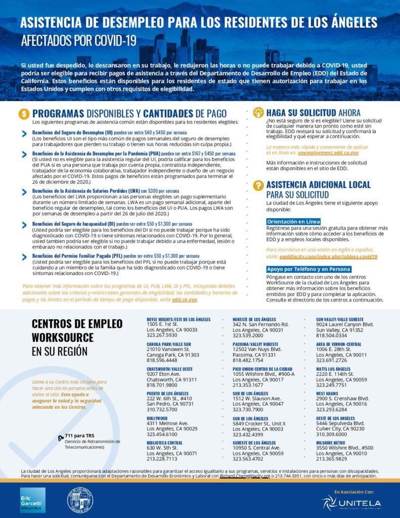 Coronavirus Response Page At Laedc Los Angeles County Economic Development Corporation