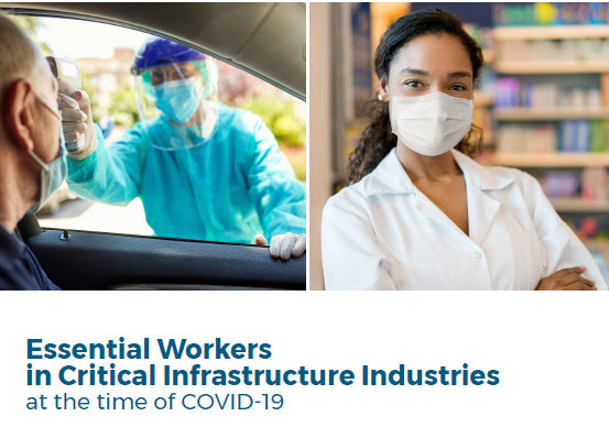 Essential Frontline Workers during COVID explored by LAEDC in new CCW report