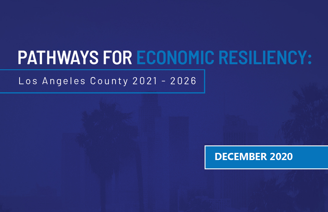 New Report: Pathways to Economic Resiliency outlines economic recovery recommendations