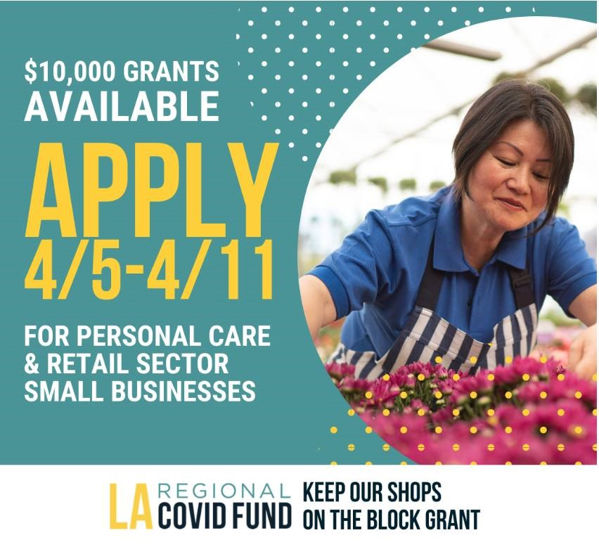 Keep Our Shops on the Block: Personal Care and Retail Recovery Grant