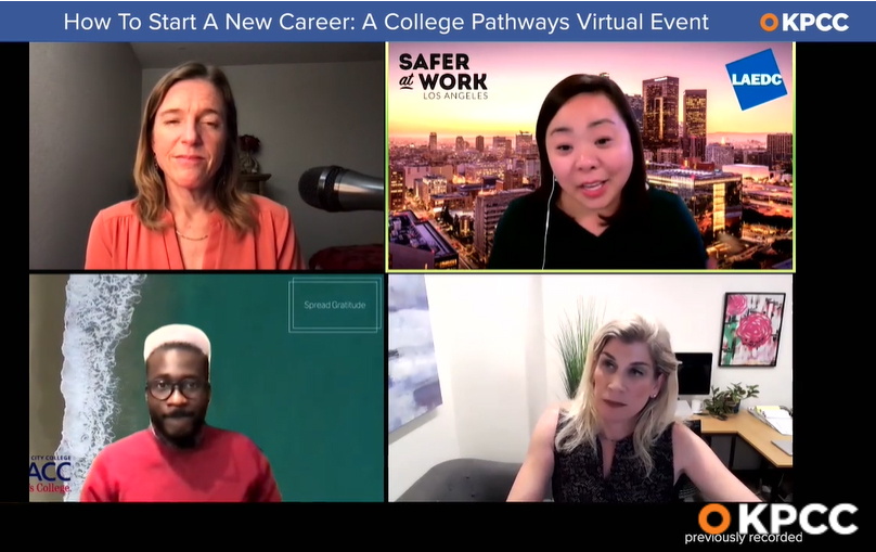 Well-paying careers are accessible: KPCC taps panelist Jessica Ku Kim of LAEDC to help job seekers