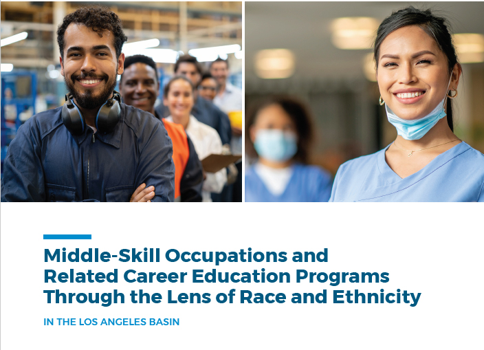 New Report: Middle-Skill Occupations through the Lens of Race and Ethnicity