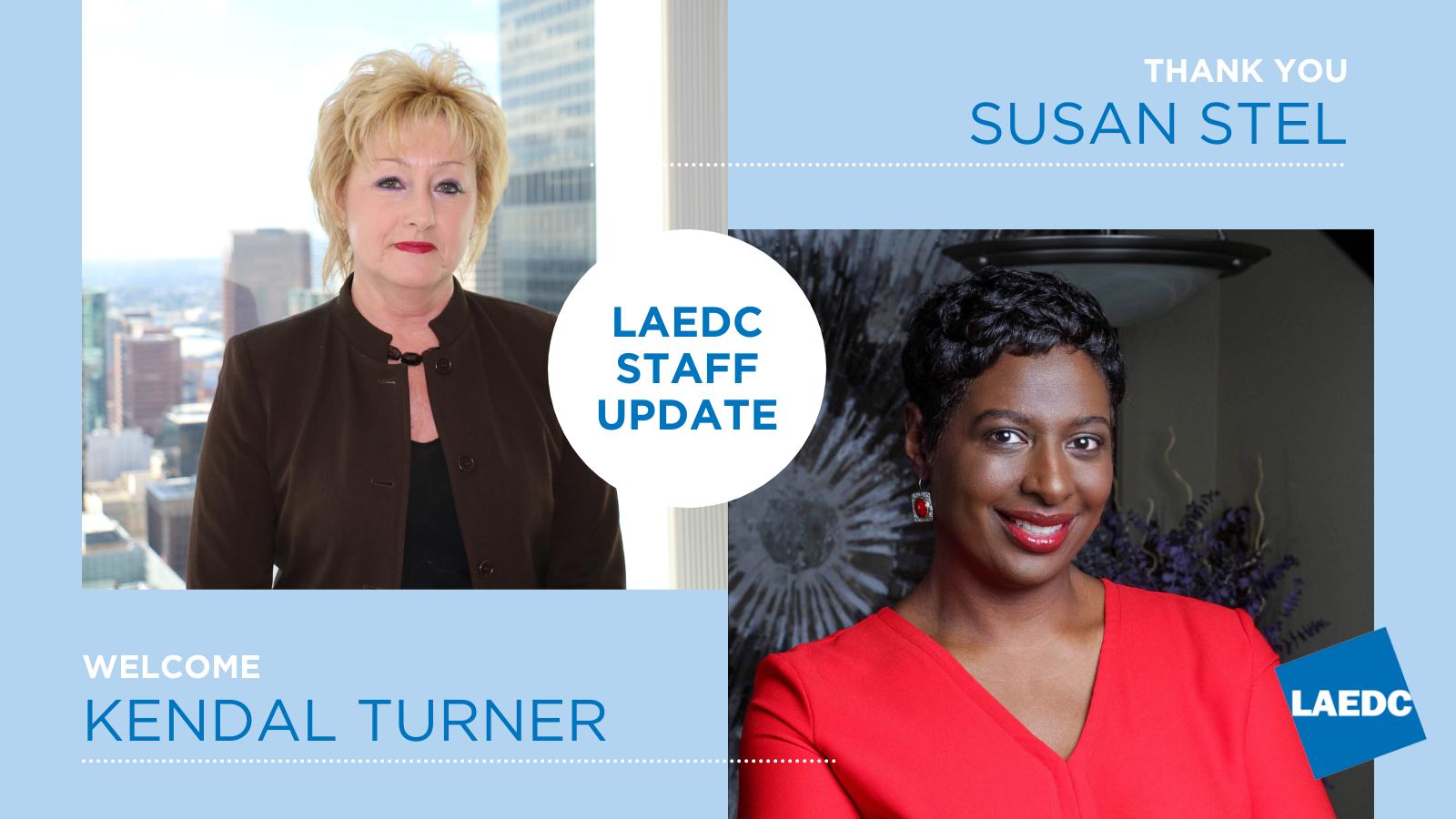 LAEDCAnnounces Retirement of CFO Susan Stel after 16 years